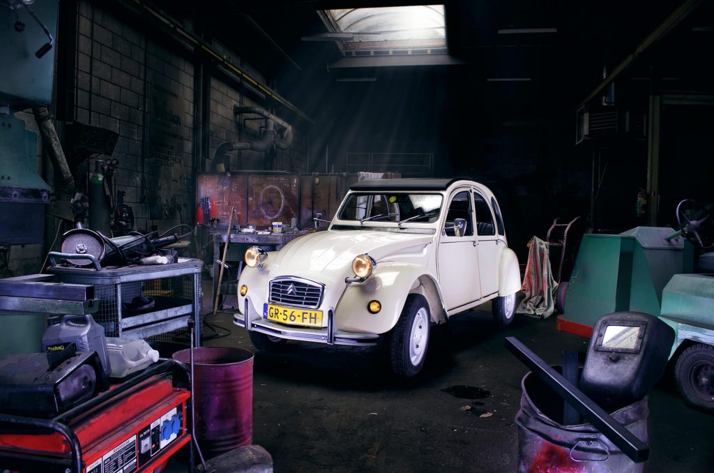 "Citroën 2CV ""Ugly Duck"""
